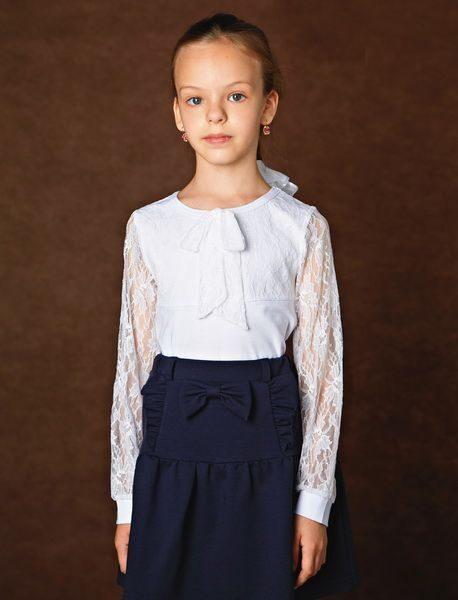 Белые Блузки Для Девочек В Школу Купить